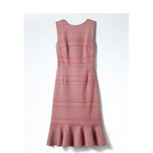 NWT Banana Republic Jacquard-Knit Cross-Back Dress