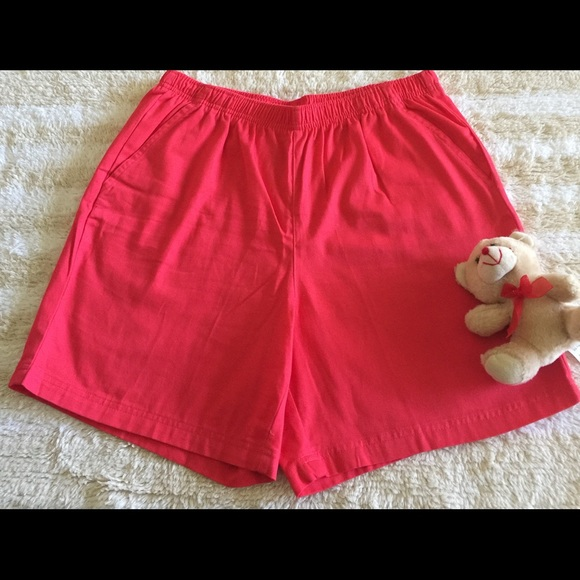 White Stag Pants - White Stag Short Red