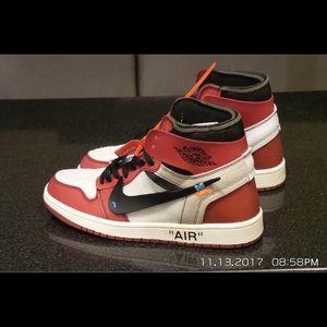 Jordan Shoes - Air Jordan 1 x Off White Virgil Abloh The Ten sz10