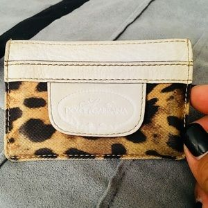 Authentic Classic Cheetah/Leopard Card Wallet