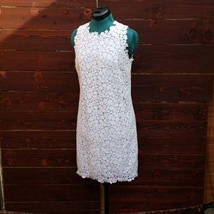 NWT Michael Kors White Lace Shift Dress
