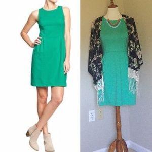 🆕 Point Knit Shift Dress in Dreamy Green