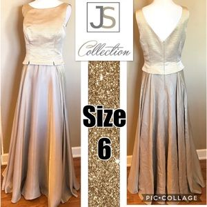 Gorgeous Gold Formal Dress Size 6