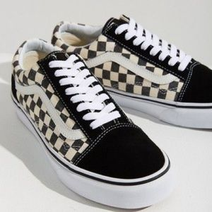 Vans Old Skool Black and White Checkered Shoes