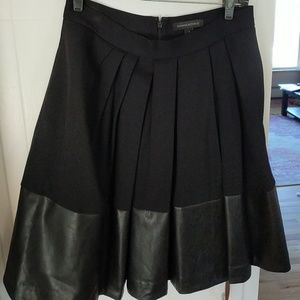 Banana republic black full skirt
