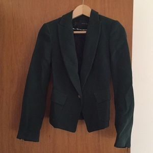 Zara Dark Green Blazer