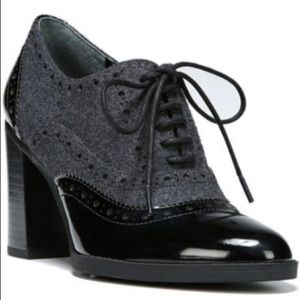 Franco Sarto Maze Oxford babydoll pumps heel shoe