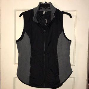 Cato dual-material vest.