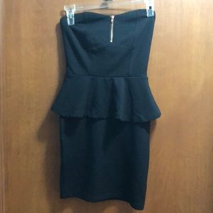 Adorable peplum LBD