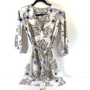 ▪️DVF 100% Silk floral print Dress