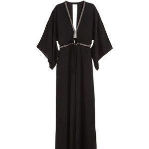H&M Beaded Kimono Dress
