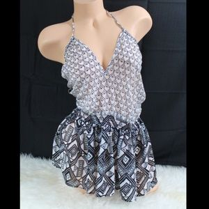 Victoria's Secret Beach Swimsuit Cover-up Romper