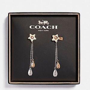 Coach Wildflower earrings