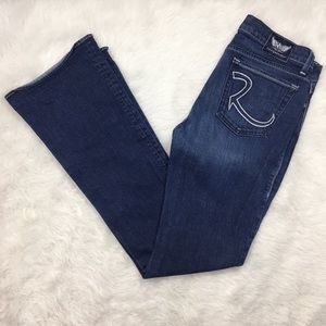 Rock & Republic Dark Boot Cut Denim Jeans