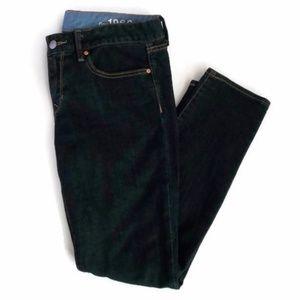 GAP Dark Wash Always Skinny Jeans-Sz 10a