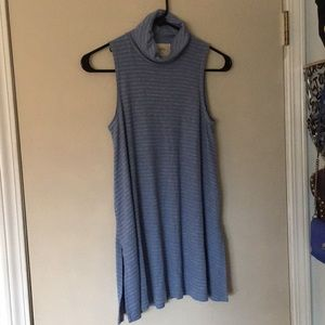 ANTHROPOLOGIE Mock-neck tank top SIZE SMALL