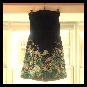 NWT Old Navy floral strapless dress size 6