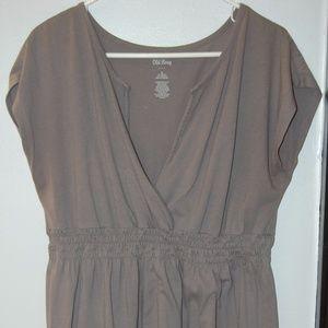 Old Navy L Summer Dress Gray
