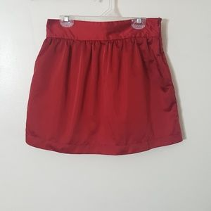 |nwt|・forever 21 satin skirt・
