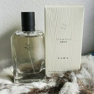 Zara eau de toilette spray Teawood fragrance