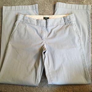 Sz6R J. Crew City Fit Stretch Gray Pants