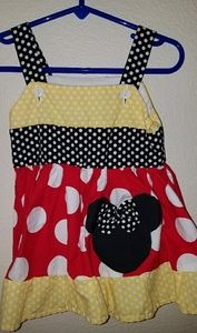 Other - Minnie Mouse Toddler Dress! Size: 18-24 Months