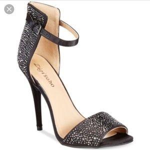Zigi Soho Tariff sequined heels size 9