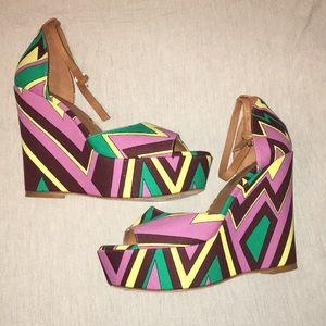 Missoni Open Toe High Heels Size 41