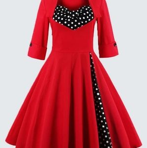 Amazing Christmas pin up dress