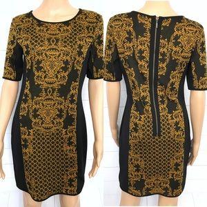 Romeo & Juliet Couture Short Sleeve Dress