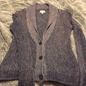 3 button cardigan sweater