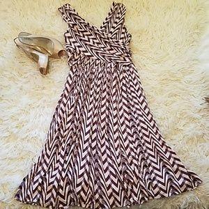 Anthro Tracy Reese Dynamic Zigs dress,  10