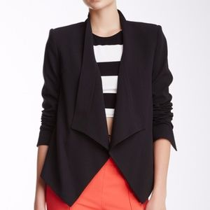 BCBGMAXAZRIA Abree Open Front Relaxed Fit Jacket