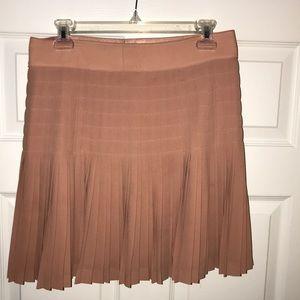 J. Crew Light pink pleated mini skirt
