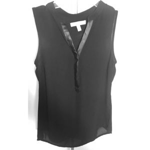 Banana Republic Black Sleeveless Top