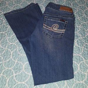 Seven7 boot cut jeans