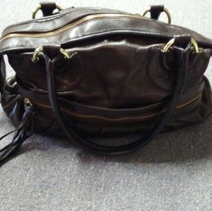 Bulga leather handbag
