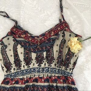 Band of Gypsies maxi tank dress, size small🌻