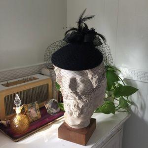 Vintage veil hat