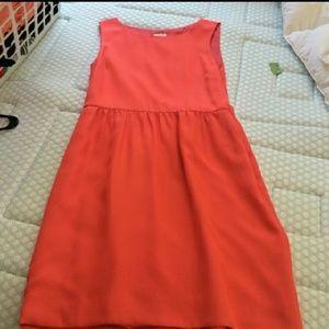 JCrew coral dress