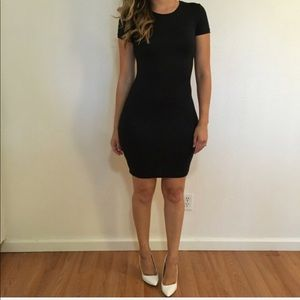 Dresses & Skirts - Black Tee Shirt Dress