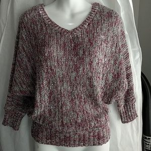 Jessica Simpson Sweater w/ batwing sleeves