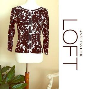 Anne Taylor LOFT Cardigan Sweater