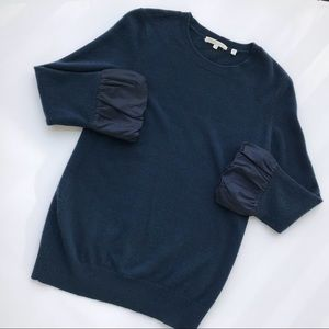 Vince 100% Cashmere Navy Sweater
