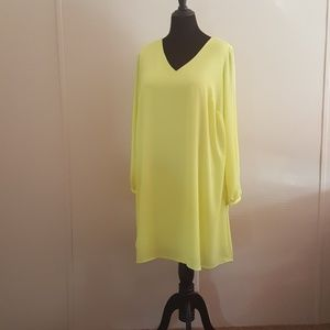 Stunning Yellow Worthington Dress