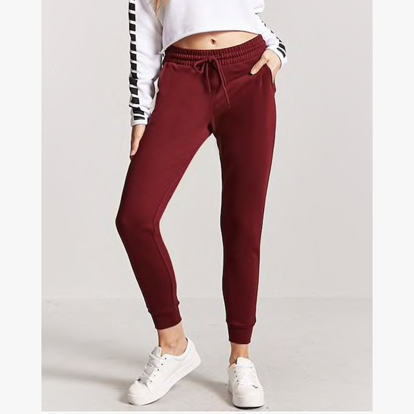 ec98efdd69b077 Forever 21 Pants | Fleece Drawstring Joggers | Poshmark