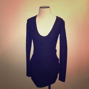 Millau Black Dress