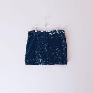 Forever21 • Sequin & Sparkle Mini Skirt