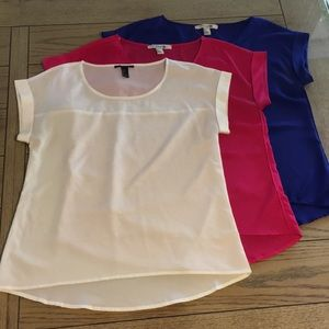 Forever 21 (3 shirts)