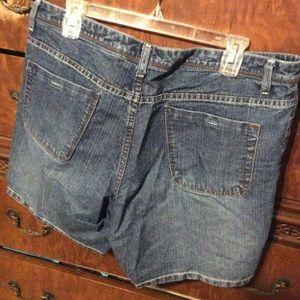 Faded Glory Jeans - Faded Glory Jean Shorts. Smoke & PetFree